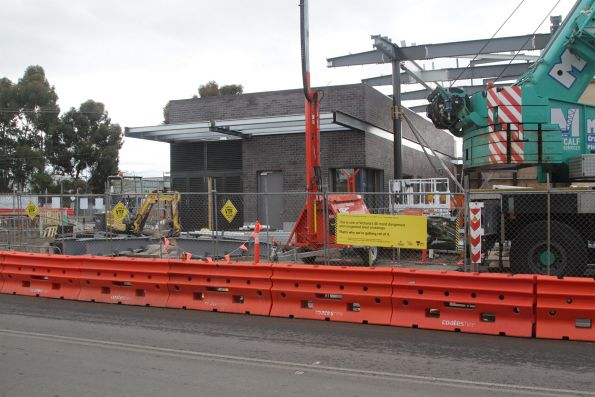 New station building underway at St Albans