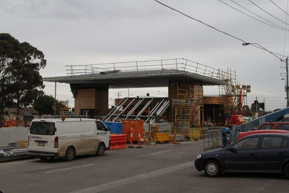 New station building taking shape at Ginifer