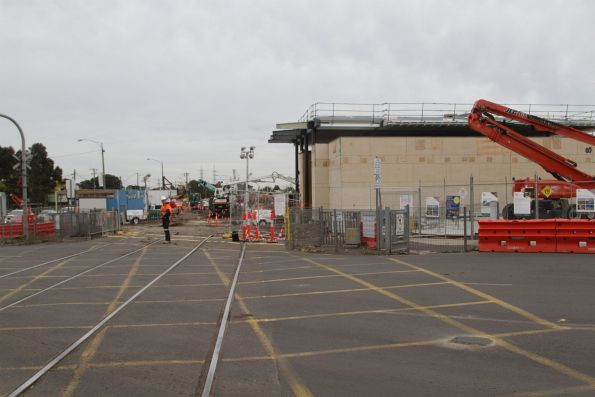 Remnants of the Main Road level crossing still in place