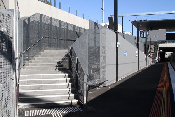 'Shortcut' staircase to St Albans platform 2 finally opened