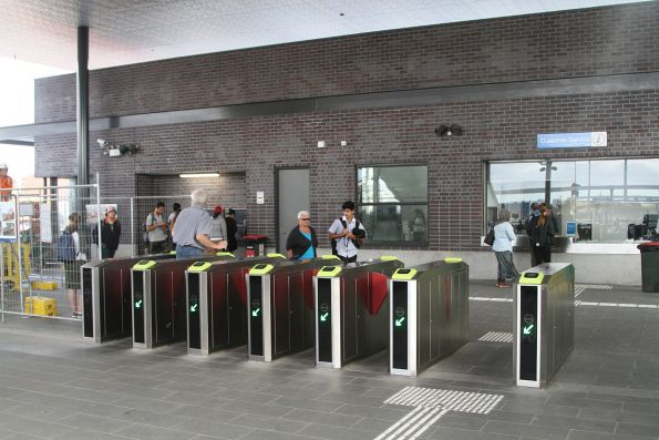 Vix ticket gates at St Albans station