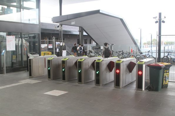 VIx ticket gates at St Albans station