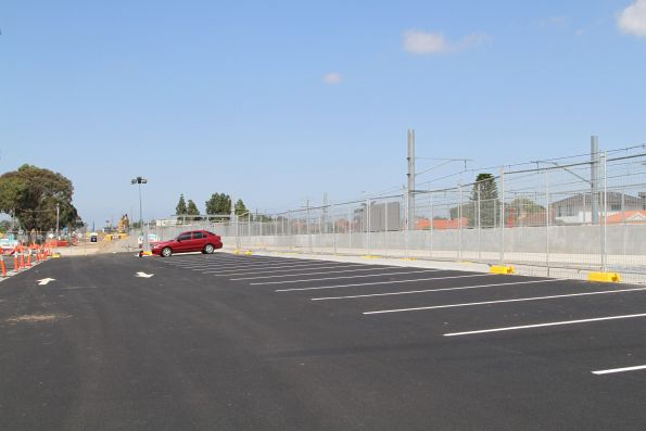 New car park almost finished north-east of Ginifer station