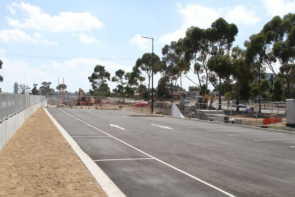 New car park almost finished north-east of St Albans station