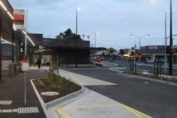 New bus interchange on the eastern side of St Albans station