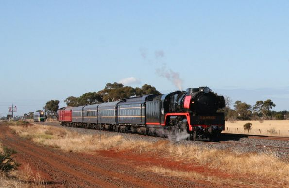Steamrail - 'Ballarat Discoverer' May 2009