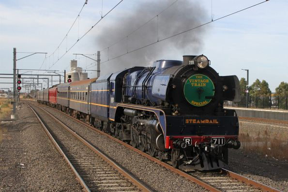 Steamrail - Bendigo Easter special, April 2019