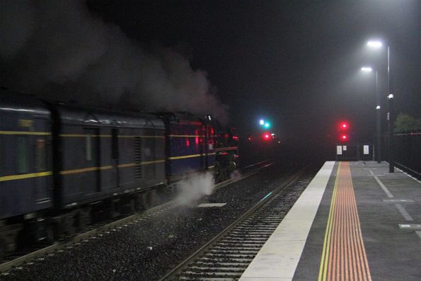 Steamrail - Bendigo charter, June 2018
