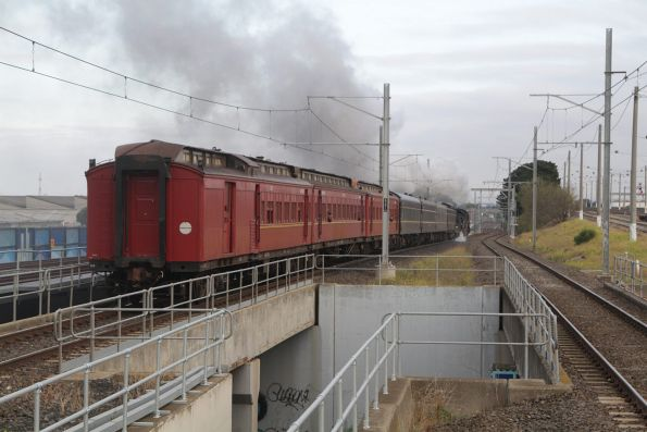 Steamrail - Bendigo, May 2015