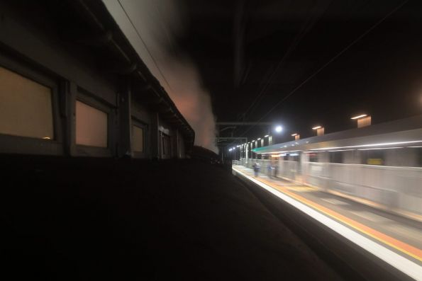 Steamrail - Double R class to Bendigo, September 2012