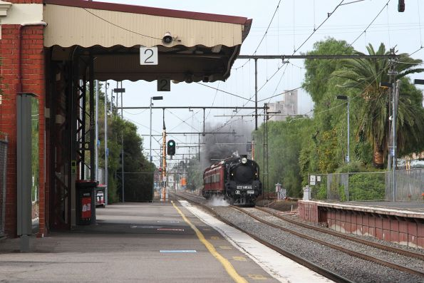 Steamrail - Caulfield-Moorabbin shuttles, November 2017
