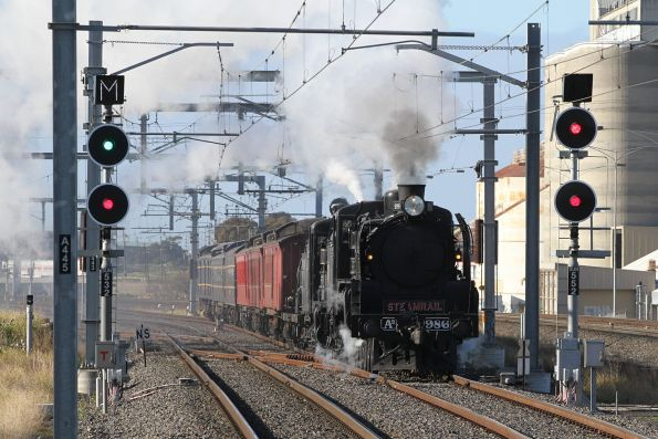 Steamrail - Cruise Express to Castlemaine, September 2018