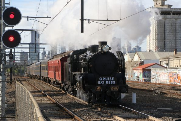 Steamrail - Cruise Express charter, July 2019