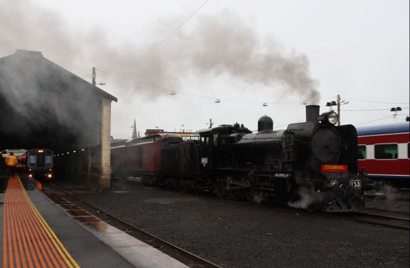 Steamrail - Geelong driver training, October 2009