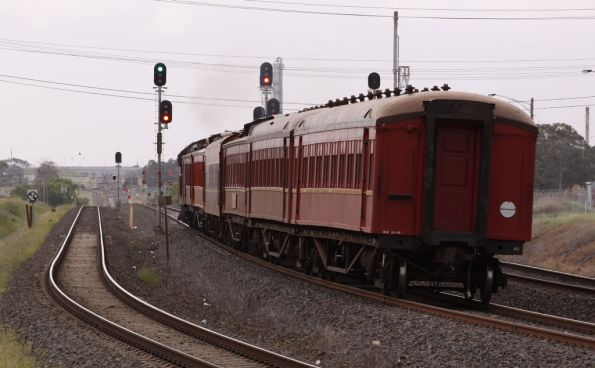 Steamrail - Geelong driver training, September 2009