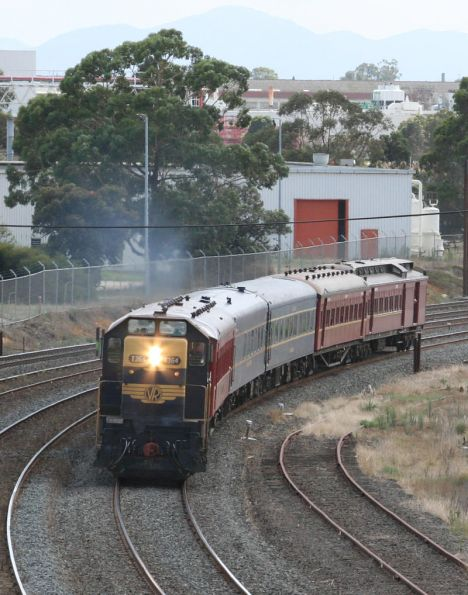 Steamrail - Geelong 'Rail and Sail' February 2007
