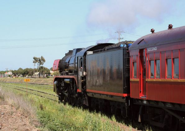 Steamrail - 'Geelong Flyer' September 2006