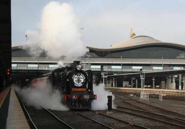 Steamrail - Geelong July 2008