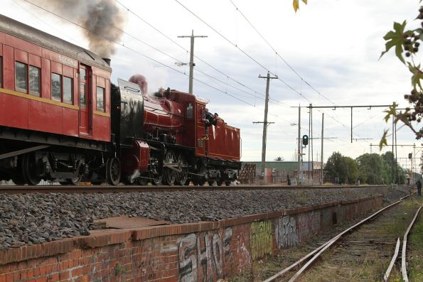 Steamrail - Rail and Sail to Geelong May 2017