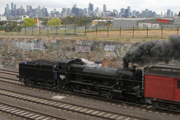 Steamrail - Rail and Sail to Geelong, October 2017