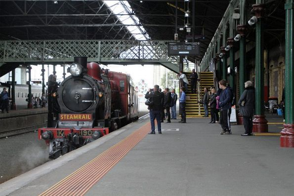 Steamrail Victoria - Geelong 'Rail and Sail' October 2019
