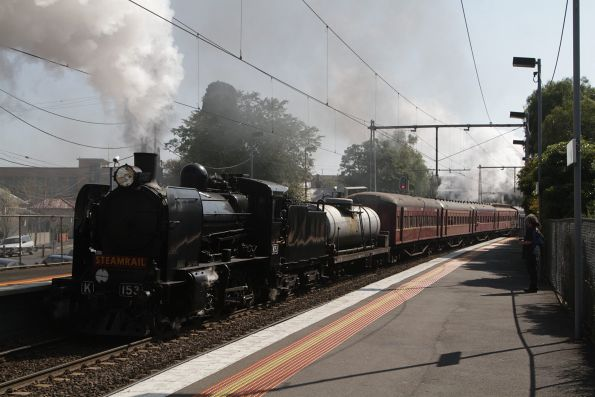 Steamrail - Members special to Castlemaine, September 2015