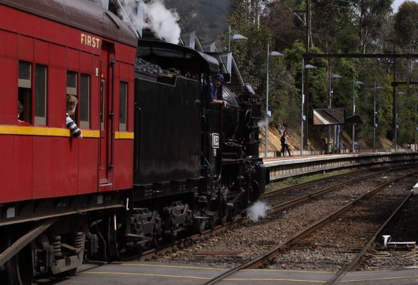 Steamrail - Mitcham to Mooroolbark shuttles - September 2009
