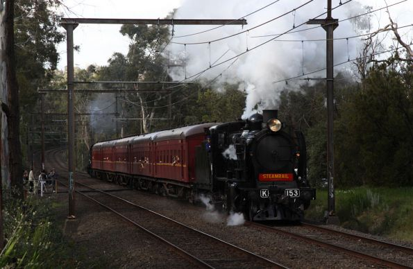 Climbing upgrade out of Mooroolbark