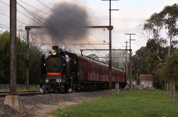Departing Mooroolbark for the last time today