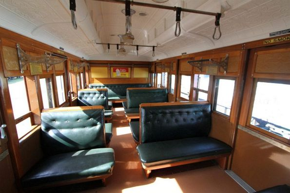 Inside a Tait carriage