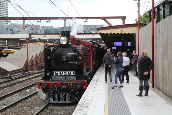 Steamrail - Sandringham to Williamstown shuttles 2019