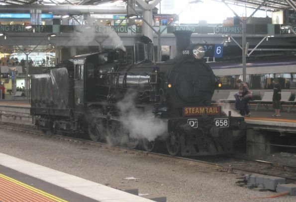 Steamrail - Bacchus Marsh September 2007