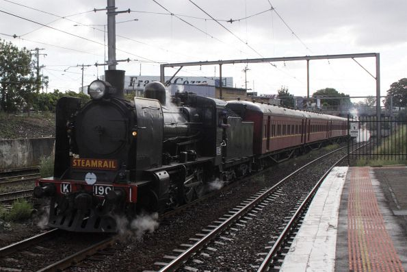 Steamrail - Mitcham shuttles, April 2010