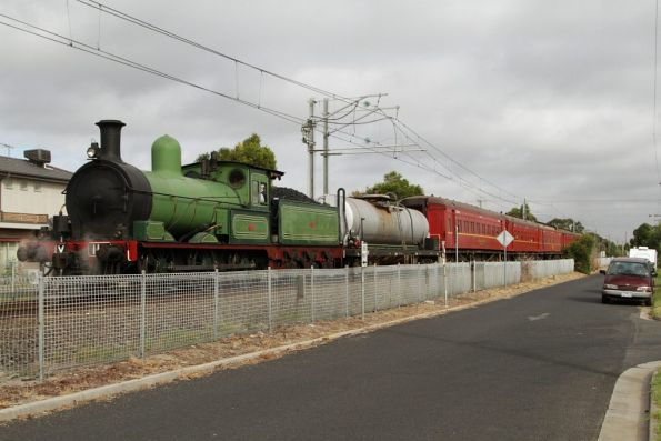 Steamrail - Suburban Rambler, April 2014