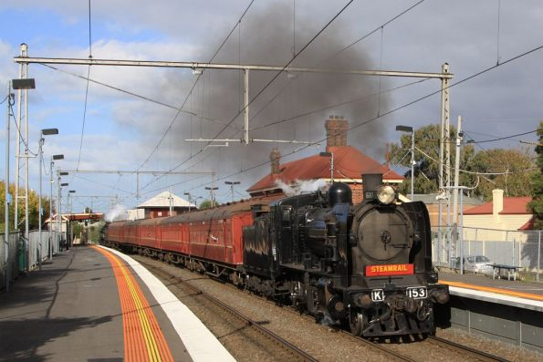 Steamrail - Williamstown shuttles 2012