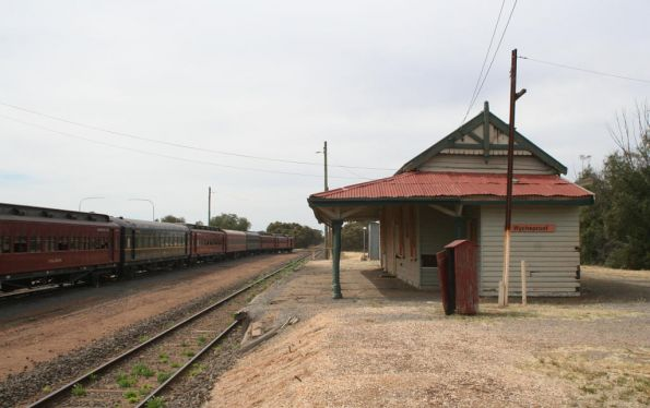 Wycheproof station building
