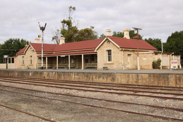 Station building at Strathalbyn