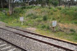'End of CTC Working' sign at Mount Barker Junction