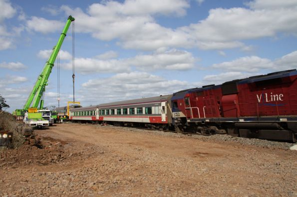 Stonyford derailment -September 2009