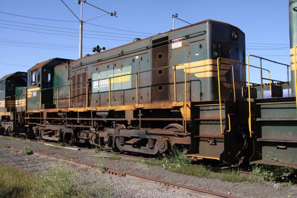 Y165 stored at North Geelong Yard