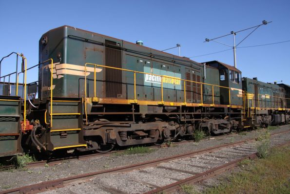 Y174 stored at North Geelong Yard