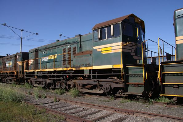 Y119 stored at North Geelong Yard