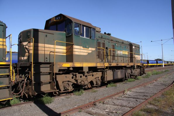 H5 stored at North Geelong Yard