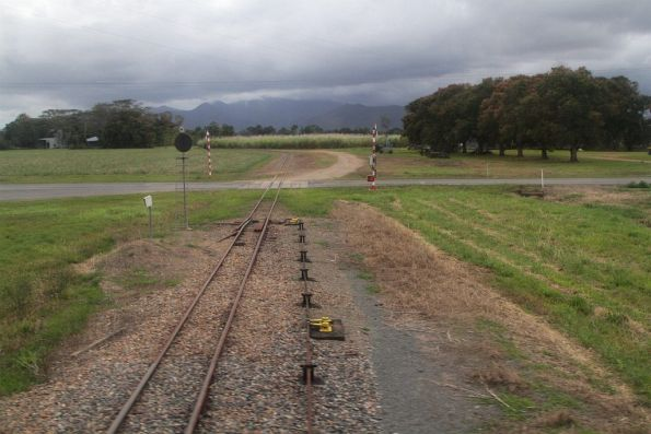Yet another cane tramway level crossing, this time north of Ingham