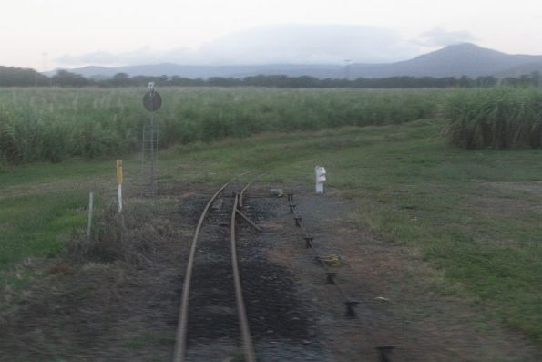 And another level crossing with the North Coast line, this time at Gordonvale