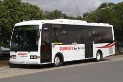 Sunbury Bus Service #42 rego 3342AO at Sunbury station