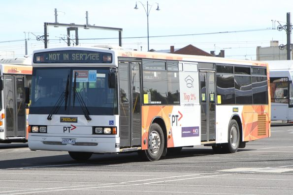 Ventura bus #1174 2652AO on a Sunbury line rail replacement service at Sunshine station