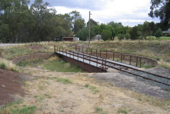 Turntable at Swan Hill