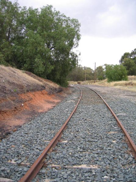Swan Hill line stations and infrastructure