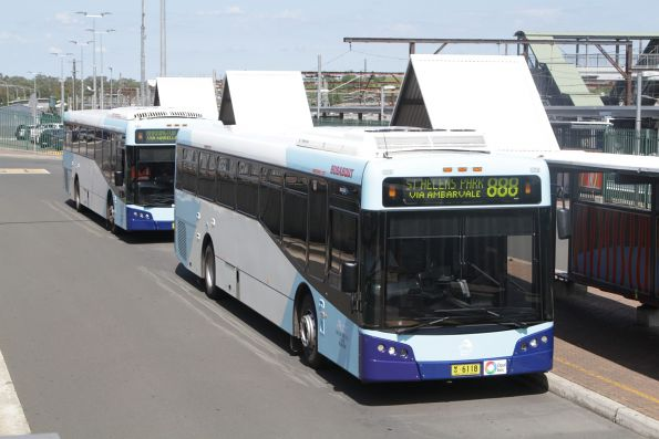 Busabout bus MO6118 on a route 888 service at Campbelltown station